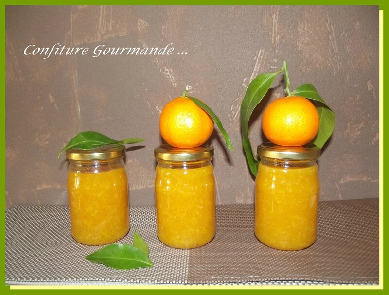 confiture clementine 1