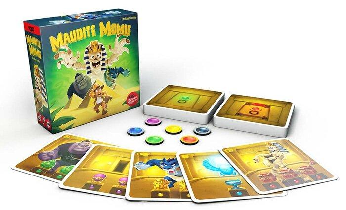 Boutique jeux de société - Pontivy - morbihan - ludis factory - Maudit Momie