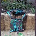 tressé choc turquoise