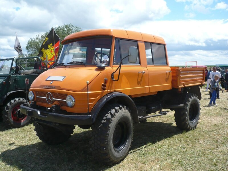 UNIMOG type 416 double cabine 1969 Eutingen (1)