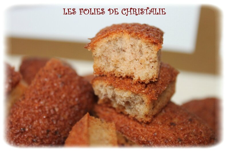 Financiers noisette 7