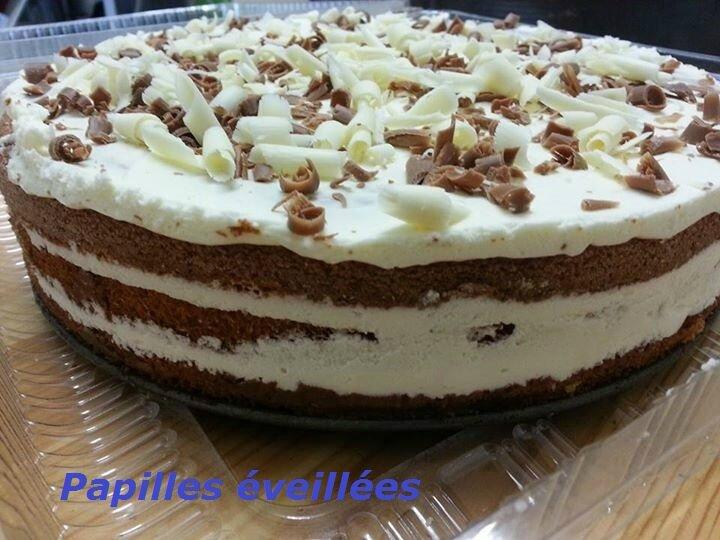 Gâteau façon Tiramisu
