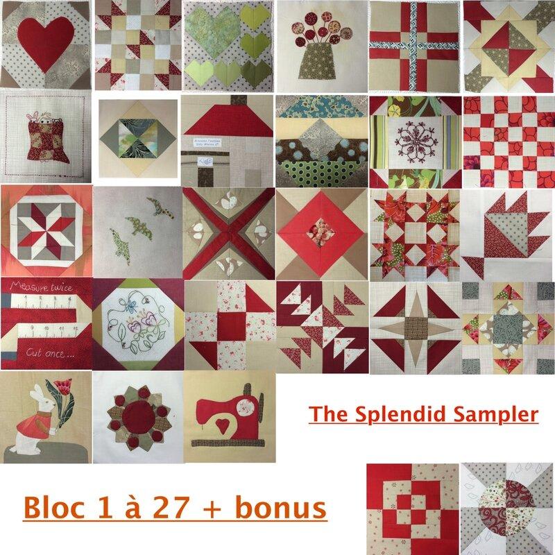 blocs 1 à 27 + bonus