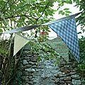 Un air de vacances.... partie 1: des couleurs au jardin.