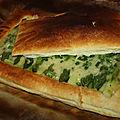 Feuilleté d asperges vertes sauce citronnée