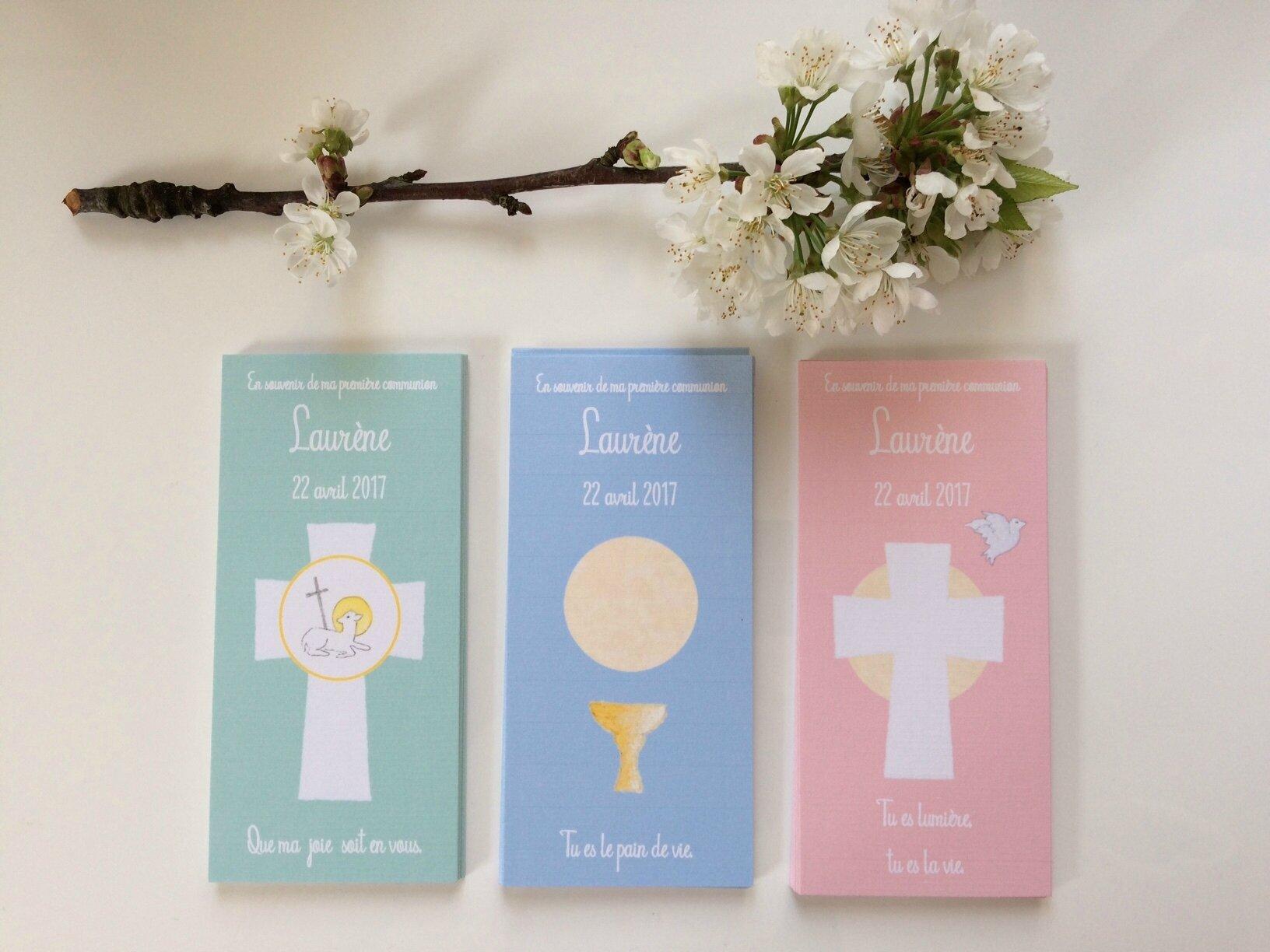 Signets de communion Laurène 220417