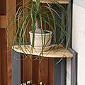 etagere angle bois de palette