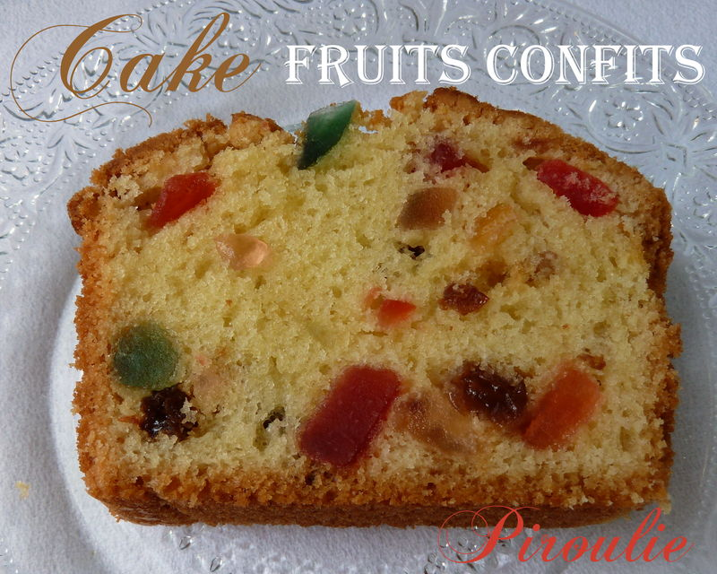 cake aux fruits confits de sophie dudemaine et photos et vid o pour chemiser un moule cake. Black Bedroom Furniture Sets. Home Design Ideas