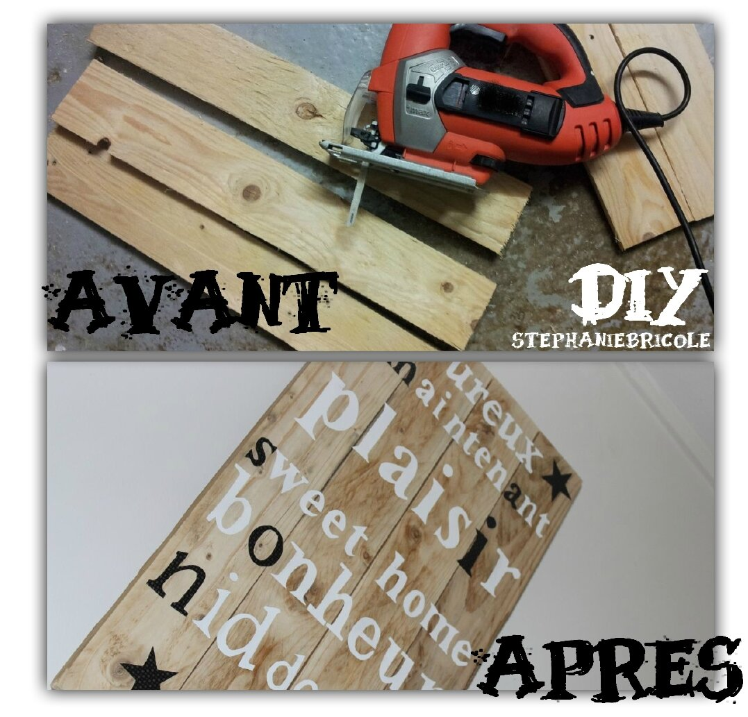Diy d co murale r cup st phanie bricole for Decoration murale fait main