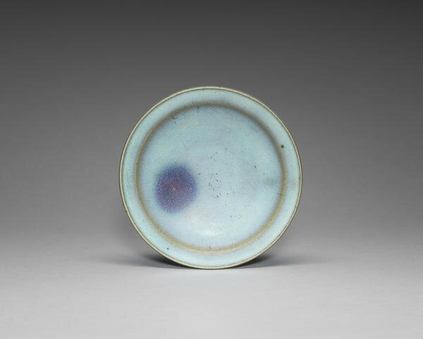 A Junyao purple-splashed dish, Song-Yuan Dynasty