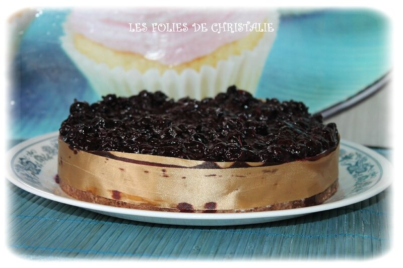 Cheesecake au cassis 1