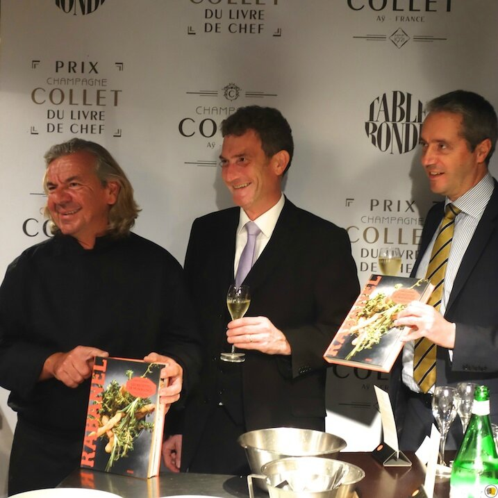 Jean-Luc Rabanel, Olivier Charriaud et Bertrand Glory