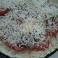 Tarte à la tomate, à la moutarde, et aux sardines