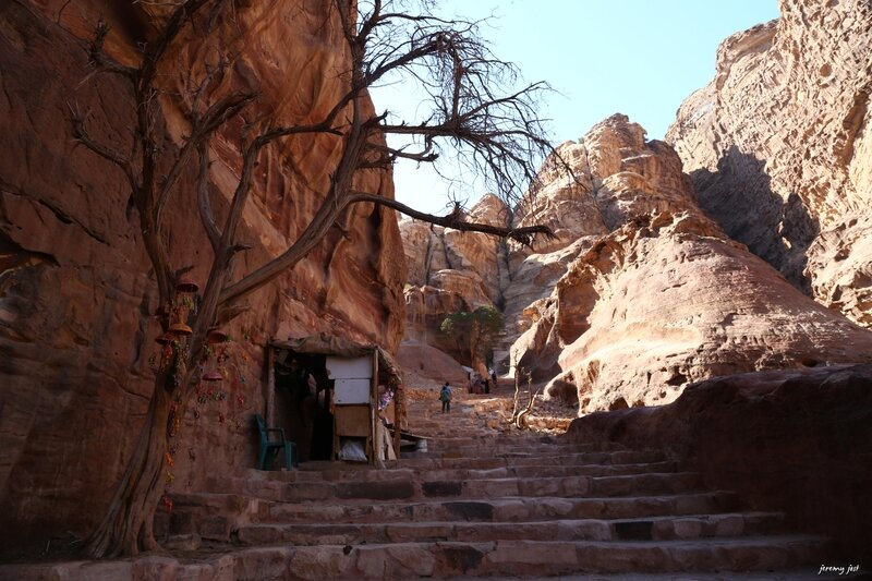 stairs to monastery