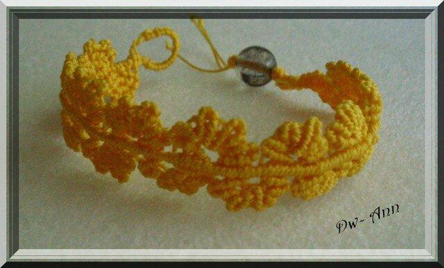 wavy flower lace