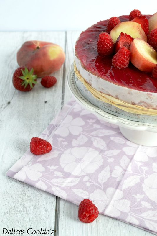 cheesecake fraises cassis cranberries IG bas