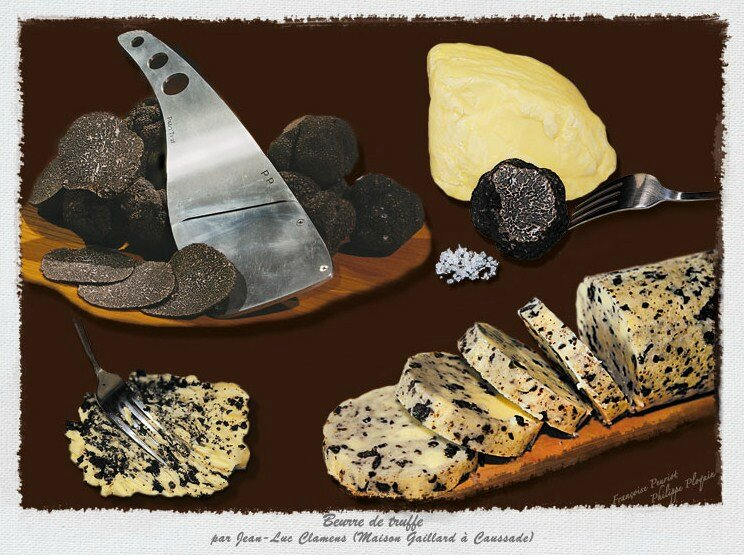 Le beurre de truffe… simple, mais efficace !