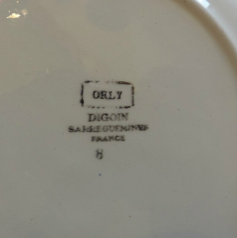 Assiette plate Orly (2)
