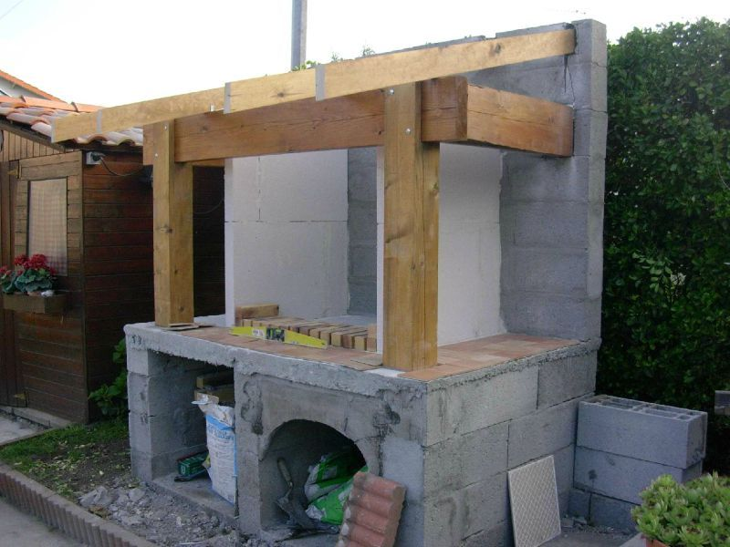 Plan de barbecue exterieur for Construire barbecue exterieur