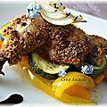 Cuisses de poulet croustillantes
