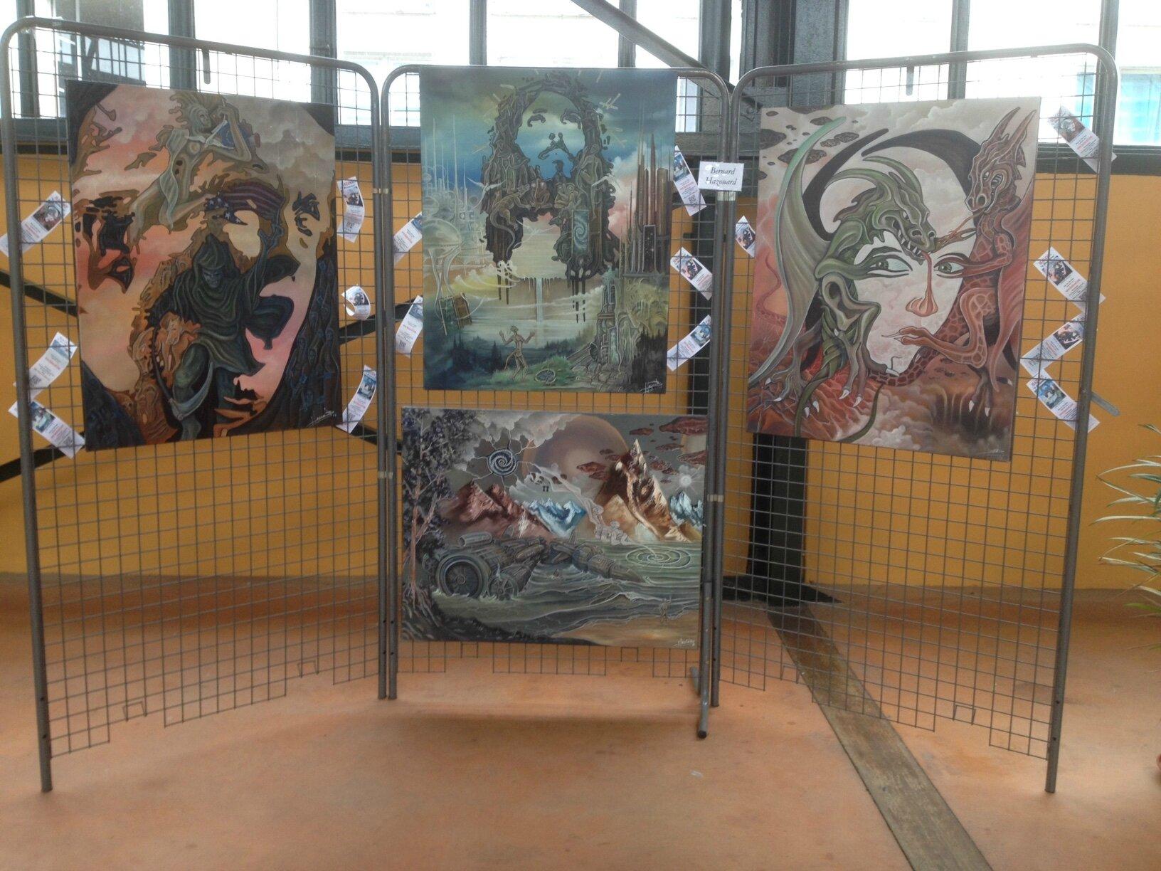 expo SENS ... LE STAND D'HAZOO...jusqu' à : dimanche 11 juin , au marché couvert de Sens...