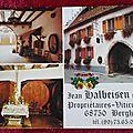 Bergheim - maison Halbeisen