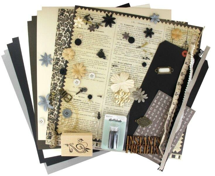 Kit atelier Multi*Albums de Juillet (2ème version), Steff