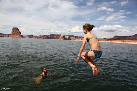 jump lake powell