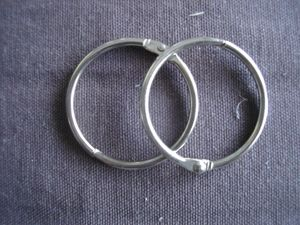 Lot anneaux - 1 €
