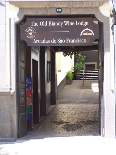 Old Blandy Wine lodge