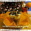 Bûches de noël version verrines