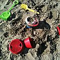Des outils de plage
