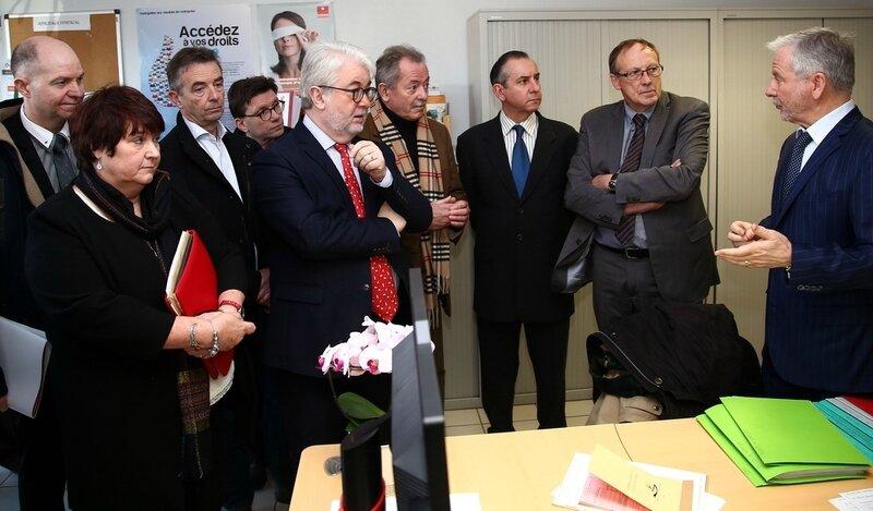 VISITE PRÉFET 2017 SYNERGIE signature CDII Jean-Luc Mennechet