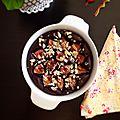 Gâteau au chocolat, amandes et figues (vegan)