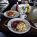 Londres - english breakfast & burgers