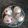 Flocon en boules de polystyrène