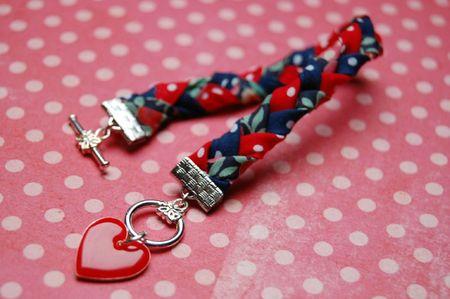 Bracelet Trinity - Rouge 2