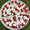 Fantastik fraises pistaches