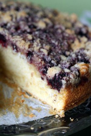 streusel cake