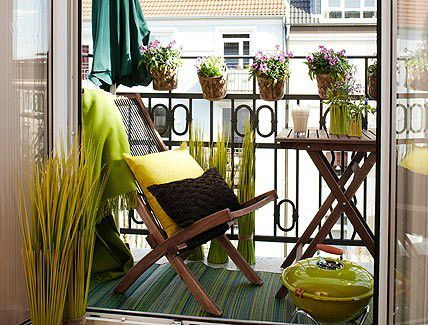 photo comment amenager balcon longueur