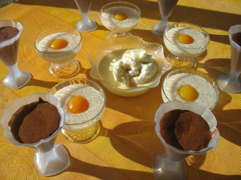 farandole de desserts les petites recettes de v 233 ro