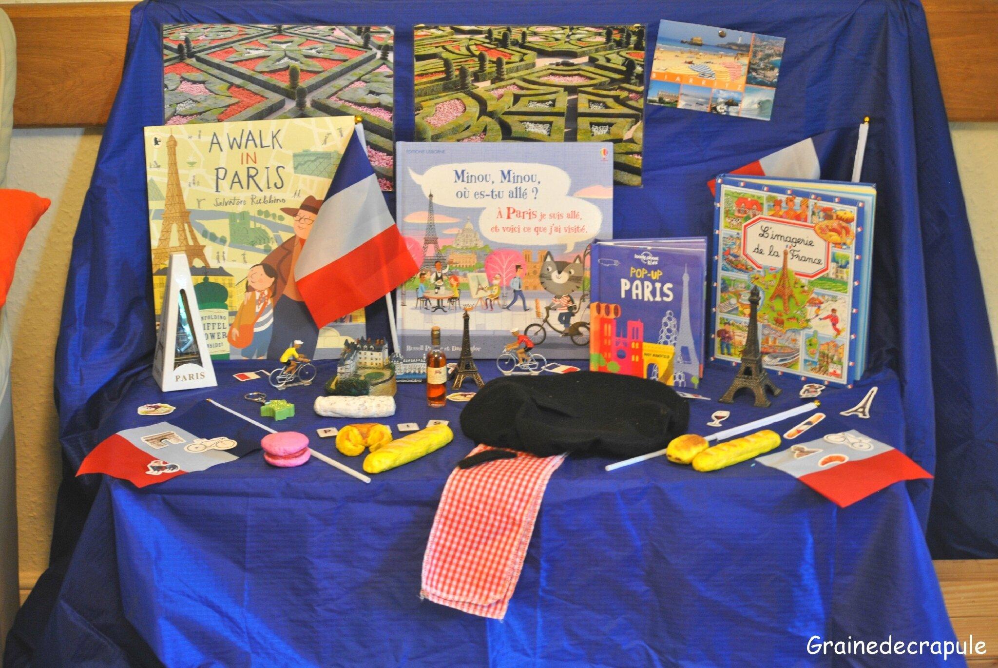 Une invitation à découvrir Paris et la France