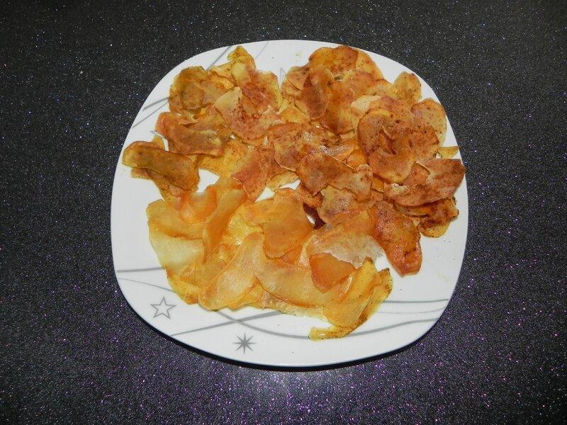 Chips au four recettes gourmandes pour petits et grands - Chips fait maison au four ...