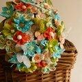 Un bouquet de mariée acidulé
