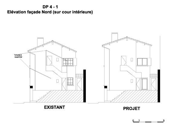 ravalement de fa ade d claration pr alable resine de. Black Bedroom Furniture Sets. Home Design Ideas