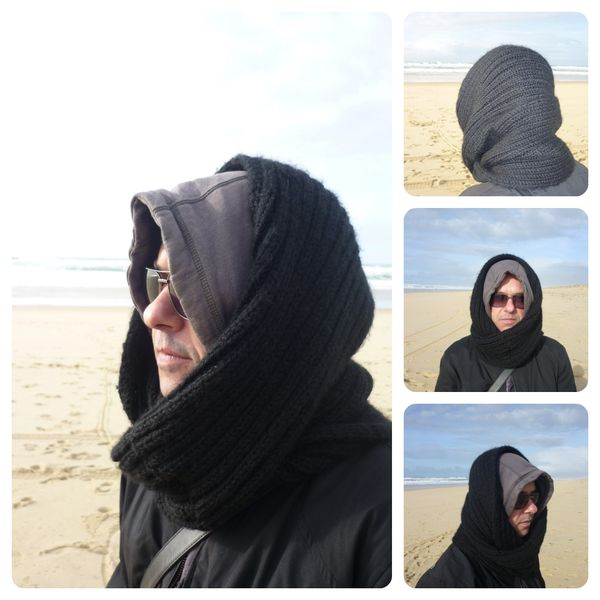 Snood black