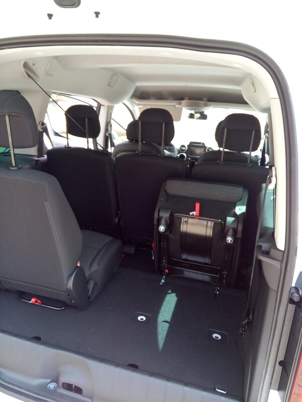 Collaborateur citroen berlingo Sieges amovible