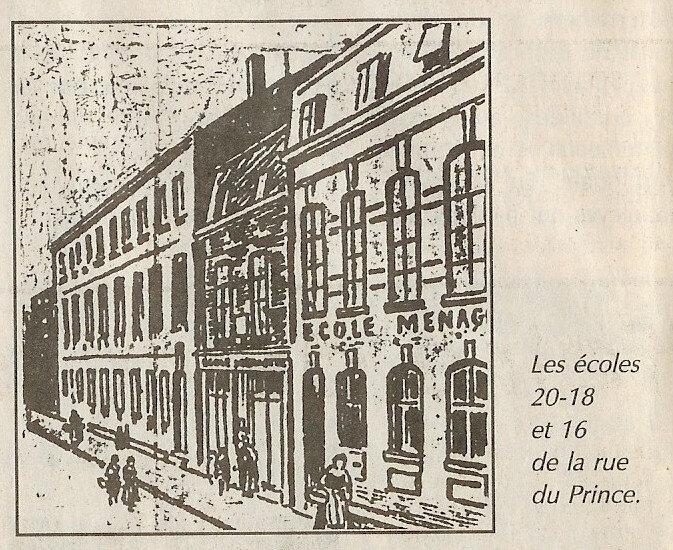 rue du Prince 4 façade 1895