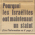 Articles antismites de la Petite Gironde, aot-octobre 1940