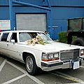 Cadillac brougham stretchlimousine 1989